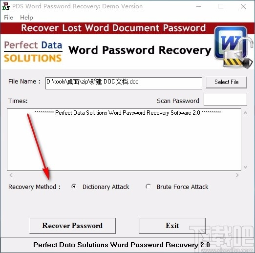 PDS Word Password Recovery(Word密码恢复软件)