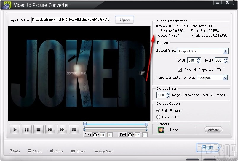 WonderFox Video to Picture Converter(视频转图片)