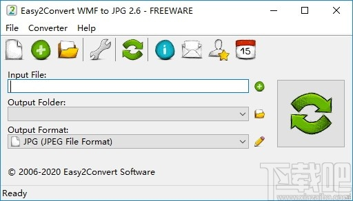 Easy2Convert WMF to JPG(WMF图片格式转换器)