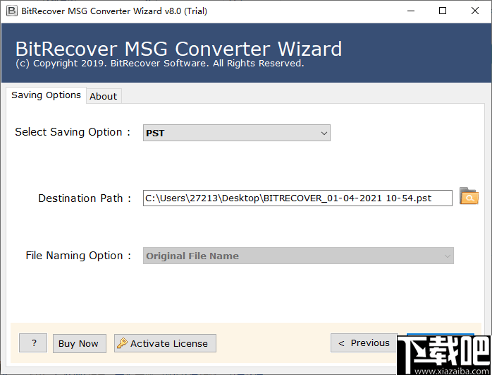 MSG to DOC Wizard(MSG转DOC工具)