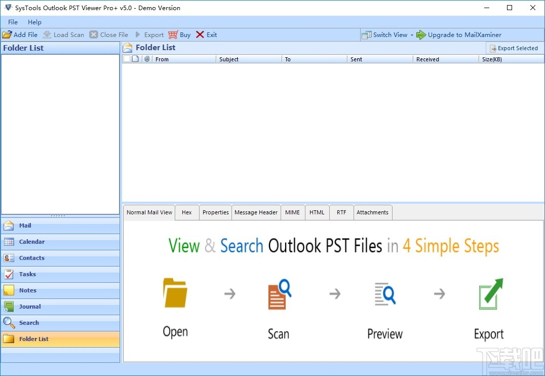 SysTools Outlook PST Viewer Pro(PST邮件查看)