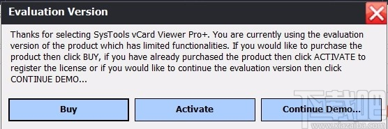 SysTools vCard Viewer Pro(vCard查看器)