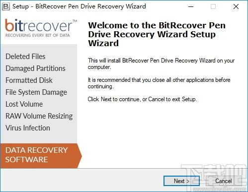 BitRecover Pen Drive Recovery Wizard(数据恢复)