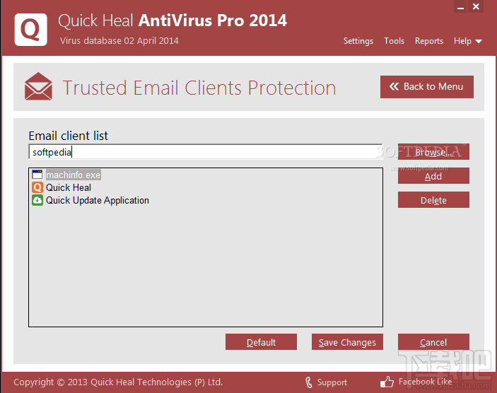 AntiVirus Quick Heal for Linux1