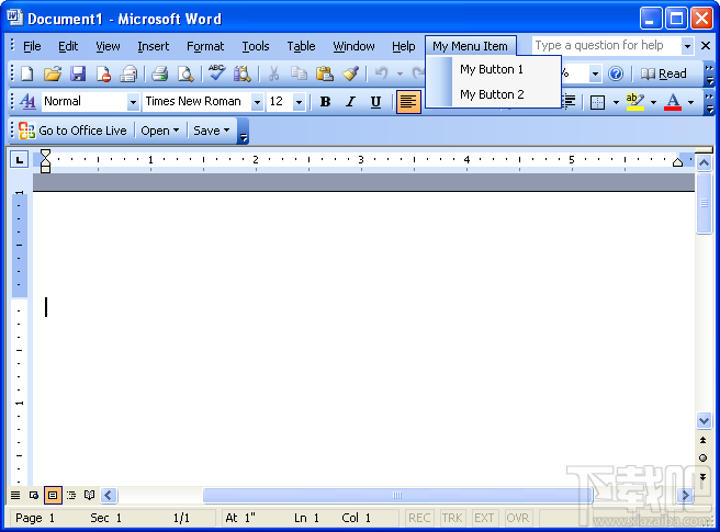 Office Word 20032