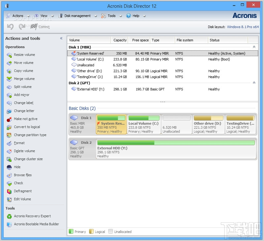 Acronis Disk Director3