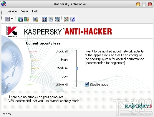 Kaspersky Anti-HackerKaspersky Anti-Hacker官方下载|Kaspersky Anti-Hacker(网络安全防火墙)V1.9官方版(3)