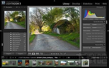 Adobe Photoshop LightroomAdobe Photoshop Lightroom 3.4官方简体中文版(3)