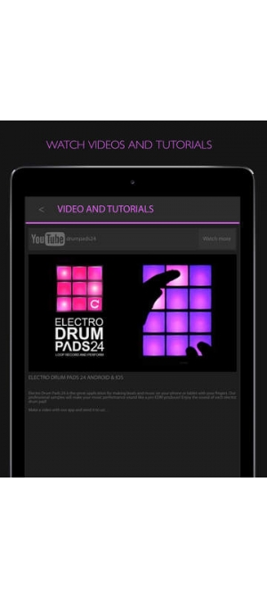 electro drum pads 24 (苹果手机electro