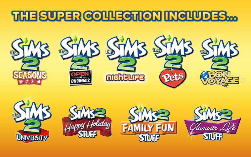 The Sims 2 for mac版(The Sims 2: Super Collection mac版下载) V1.2.3 for mac苹果版4