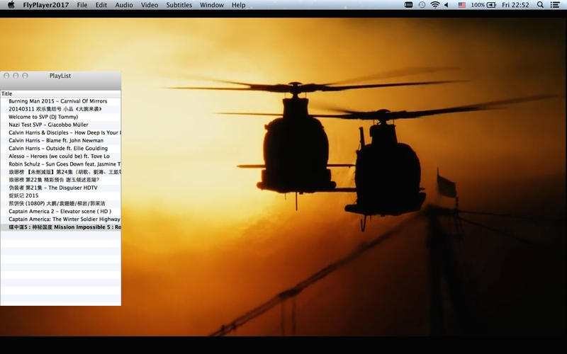 FlyPlayer2017 for mac版1.0官方版1