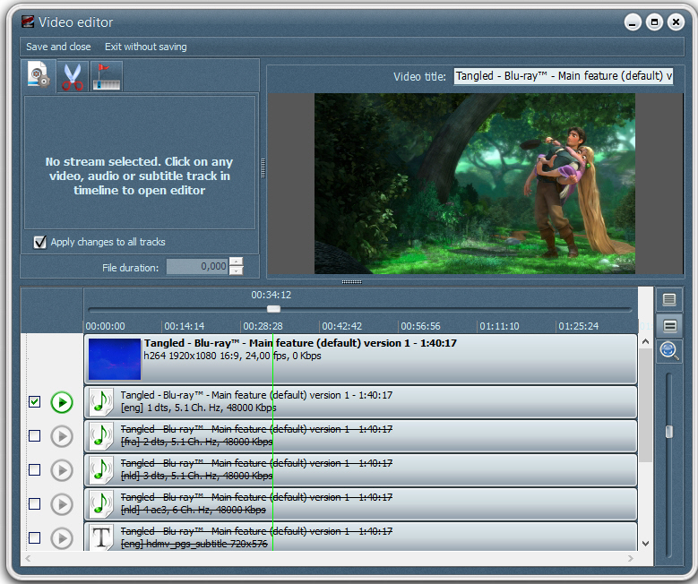 VSO Blu-ray Converter Ultimate1